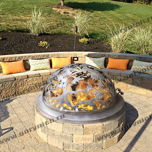 Купол для очага Райский сад